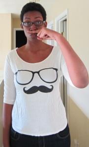Mustache Screen Tee