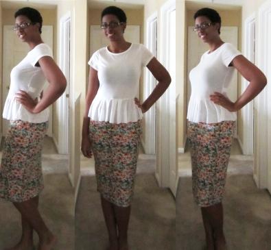 ditsy skirt