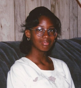 My first pair of glasses. My mom picked them out. I was ahead of my time...