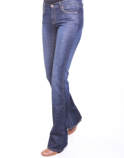 "41"" inseam Zen Vintage Bootcut Jeans from Talltique"