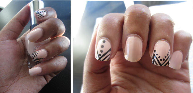 Royal Lines-Geometric Nail Art | The Junoesque
