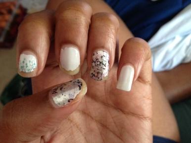 Crabs 1, Nails 0