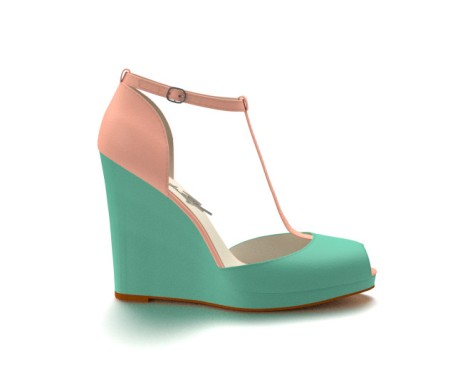 T-strap wedge from Shoes of Prey